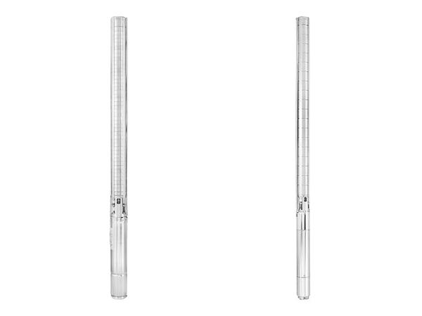 due elettropompe sommerse radiali in acciaio