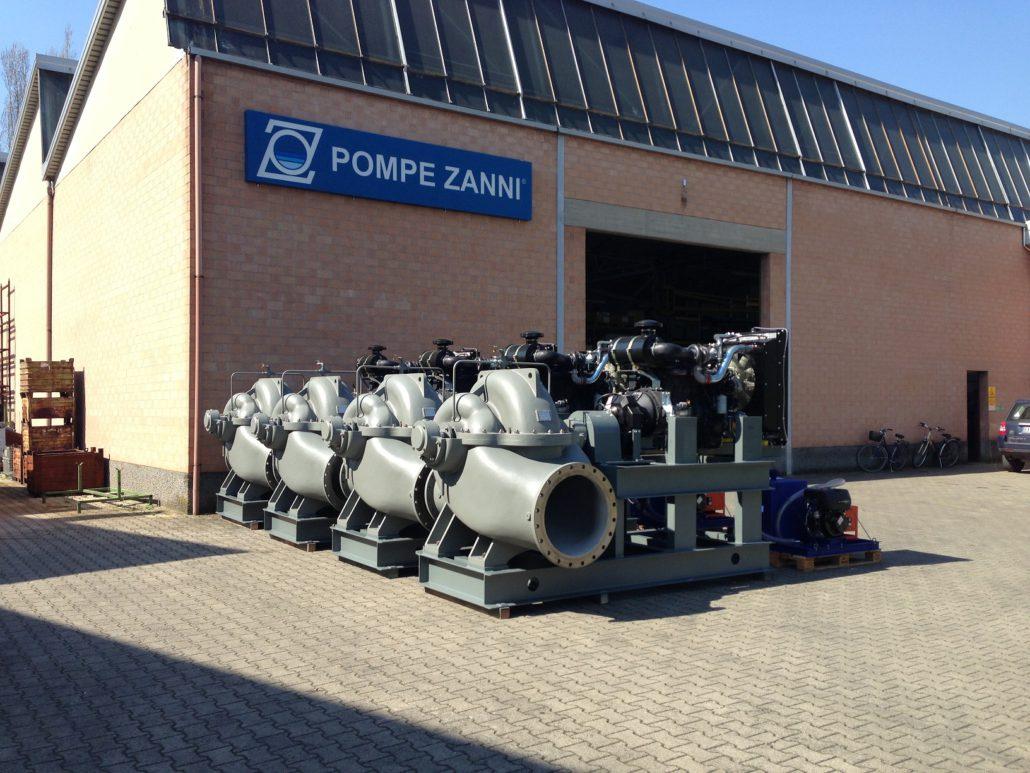 pompe split case a diesel