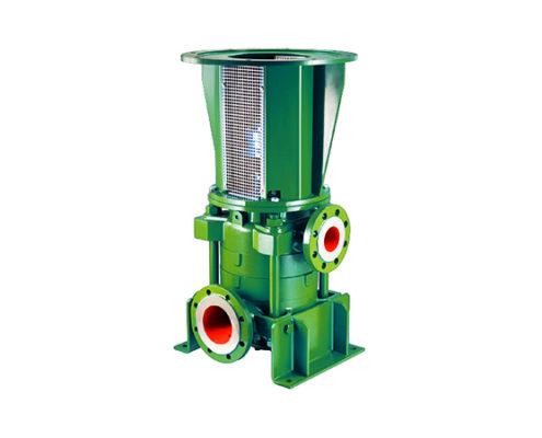 pompa multistadio verticale